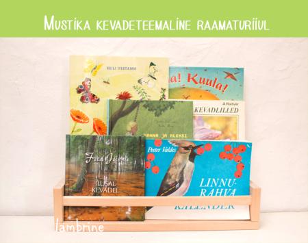 raamatud kevadest