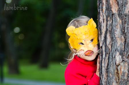 lehtedest mask