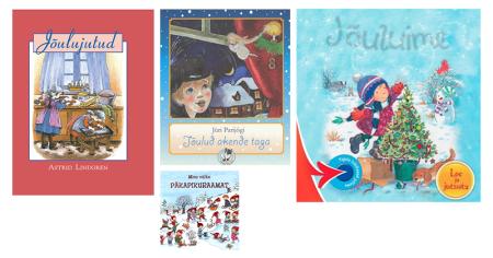 lasteraamatud jõuludest talvest päriselust