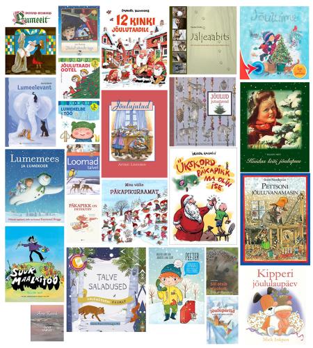 raamatusoovitused jõulud talv lumi