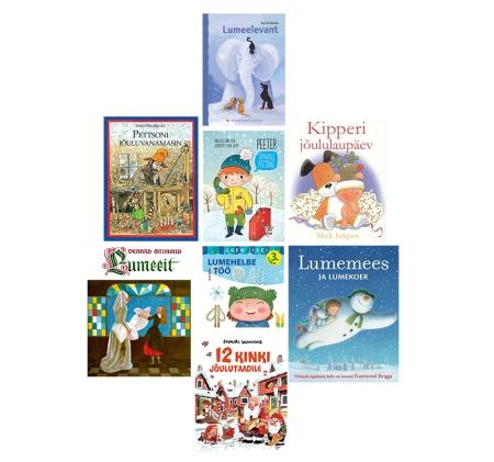 lasteraamatud talvest jõuludest