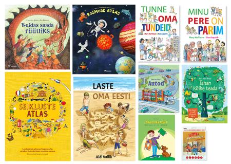 lasteraamatud aimekirjandus lastele