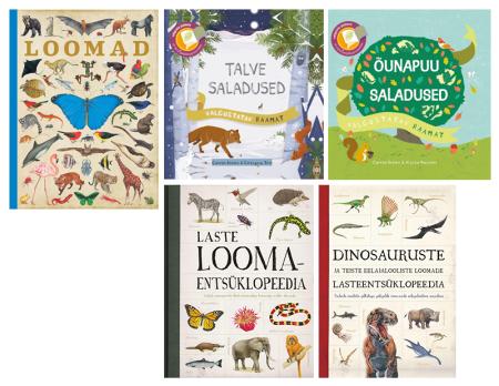 lasteraamatud loodusest