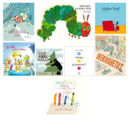 lasteraamatud välismaa autorid