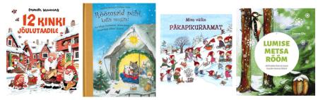 lasteraamatud jõuludest