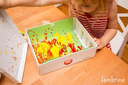 tammetõrudega kastanitega värvimine